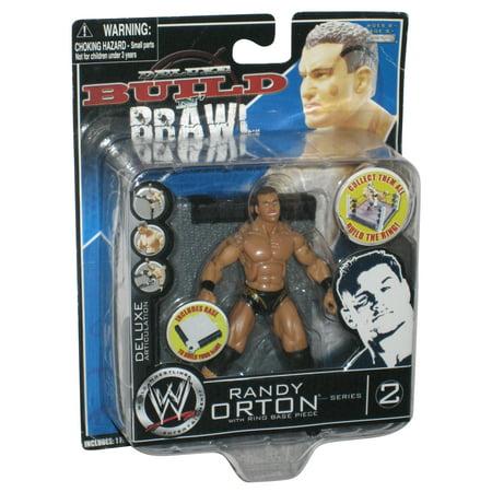 WWE Build N Brawl Series 2 Randy Orton Deluxe Jakks Pacific Figure ()