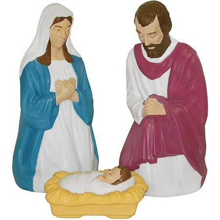 Light-Up 3-Piece Nativity Set