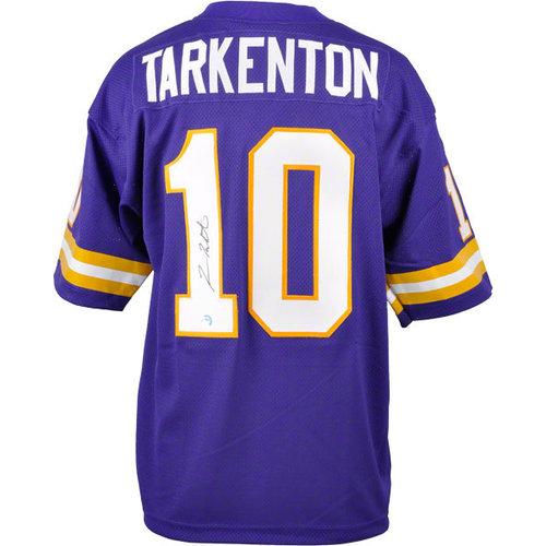NFL - Fran Tarkenton Autographed Jersey | Details: Purple, Custom