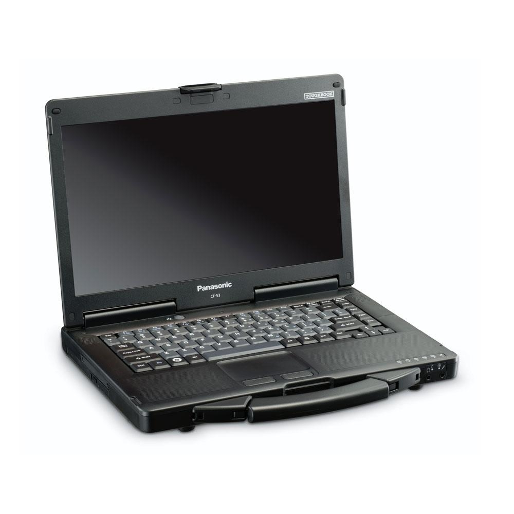 Panasonic Toughbook CF-53 Intel Core i5-4310U X2 2GHz 4GB 256GB SSD, Black (Certified Refurbished)