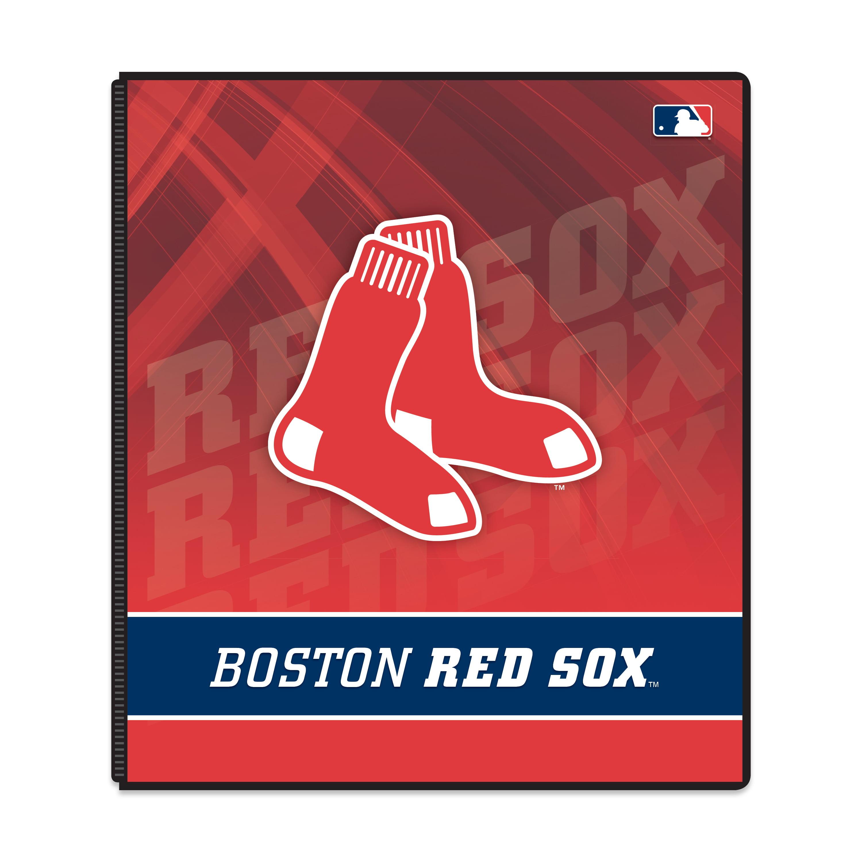 3-ring binder boston red sox - walmart