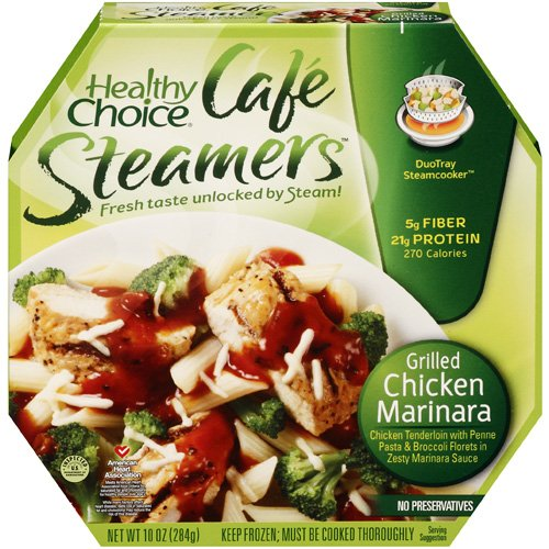 Healthy Choice Hc Cafe Steamers Grill Chicken Marinara