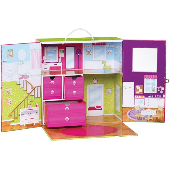 Calico Critters Carry and Play House - Walmart.com