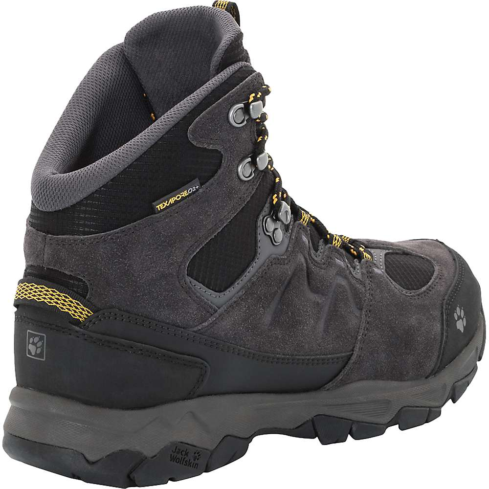 34f5133c38f Jack Wolfskin Men's Mountain Attack 6 Texapore Mid Boot