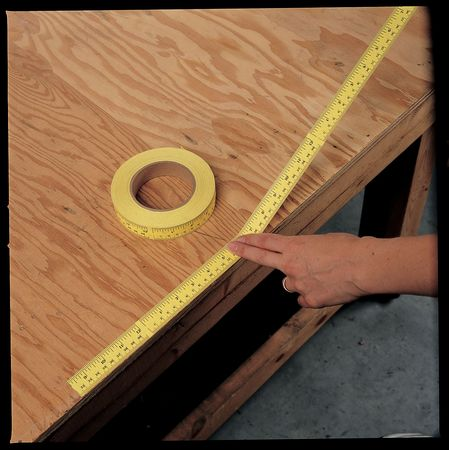 Value Brand Adhesive Backed Tape Measure, 3KHL1