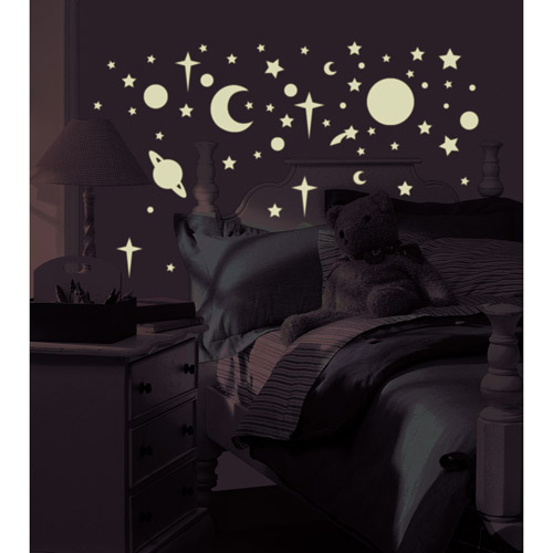 RoomMates   Glow In The Dark Celestial Peel U0026 Stick Wall Decals Part 93