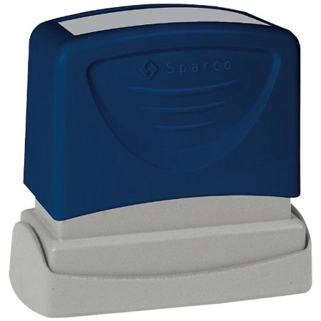 Sparco Pre-inked Stamp - Posted Message Stamp - 1.75