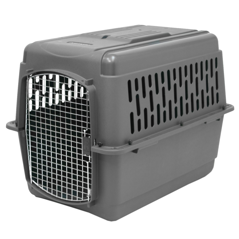 Aspen Pet Pet Porter Plastic 40 Inch Travel Carrier Kennel for 70-90 Pound Pets