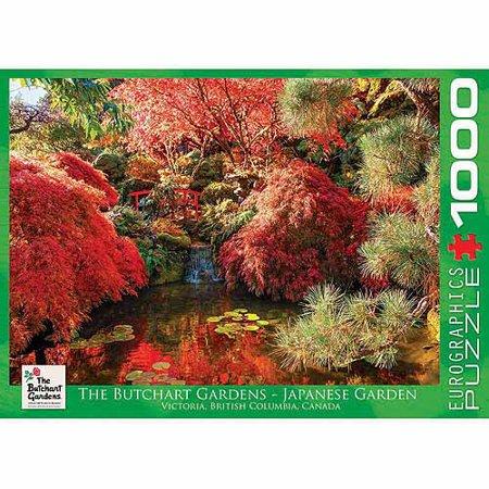 Japanese Jigsaw (EuroGraphics Butchart Gardens Japanese Garden 1000-Piece Puzzle)