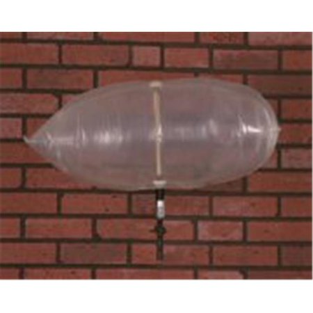 the chimney balloon wf006 24 x 12 in fireplace draft stopper