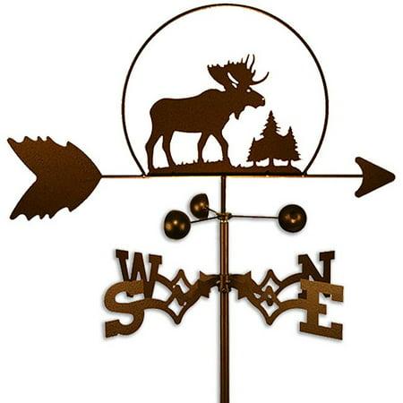 SWEN Products Inc Handmade Wildlife Steel Moose -