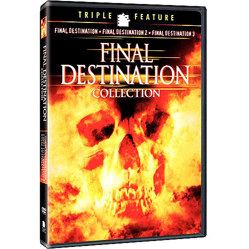 MC-FINAL DESTINATION COLLECTION-TRIPLE FEATURE (DVD/3PK/FD4 MOVIE CASH)