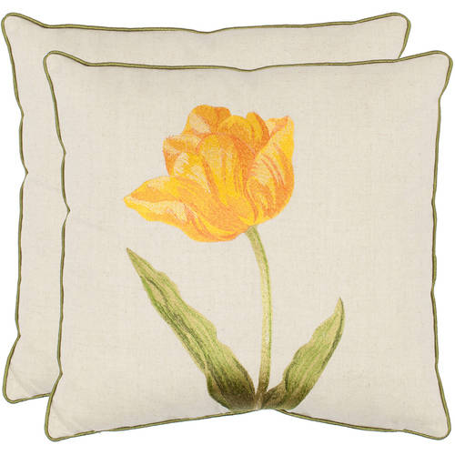 Safavieh Meadow Floral Pillow, Set of 2