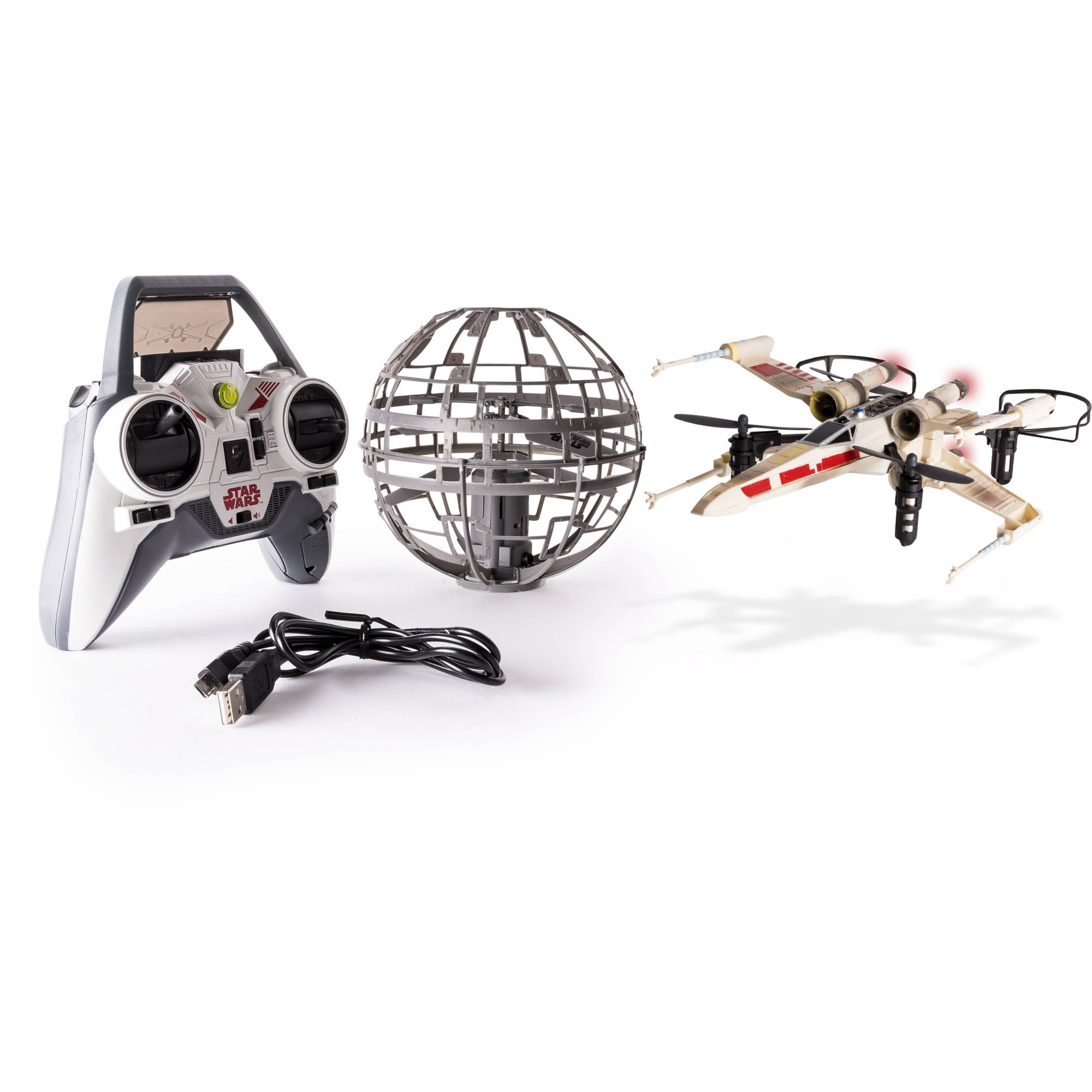 Air Hogs Star Wars, Rogue One X-wing vs. Death Star, Rebel Assault RC Drones