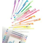 30-Count U Brands Metallic Gel Pens, Assorted Colors for Adult Coloring Book