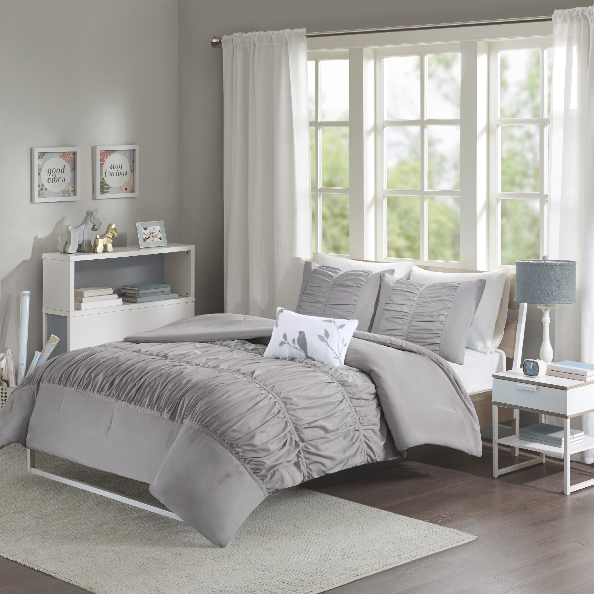 Home Essence Teen Haley Printed Comforter Bedding Set