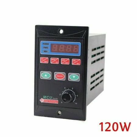 AC 110V/220V Single Phase/3-Phase Variable Frequency Drive Converter Motor VFD Video Drive Converter