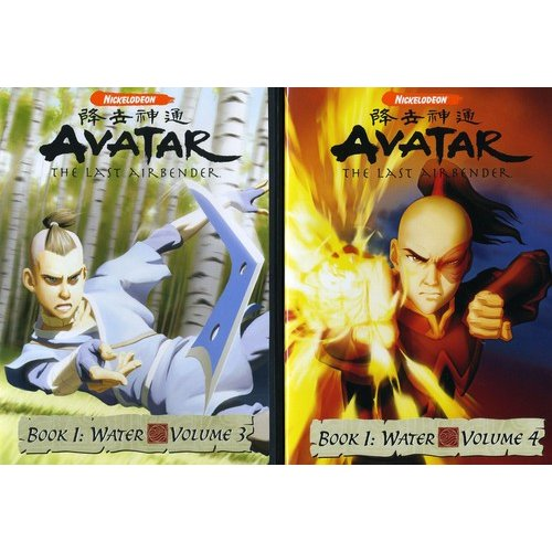 Avatar - The Last Airbender: Book 1 - Water, Vols. 3 & 4 (Full Frame)
