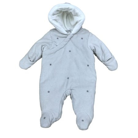 First impressions infant boy gray star print snowsuit for Fingerprint jewelry by first impressions