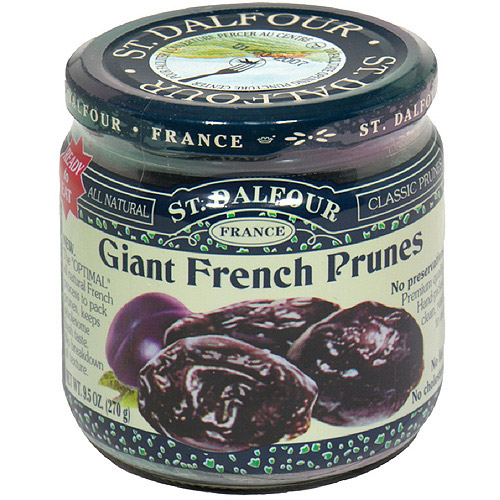 St. Dalfour Giant French Prunes, 7 oz (Pack of 6)