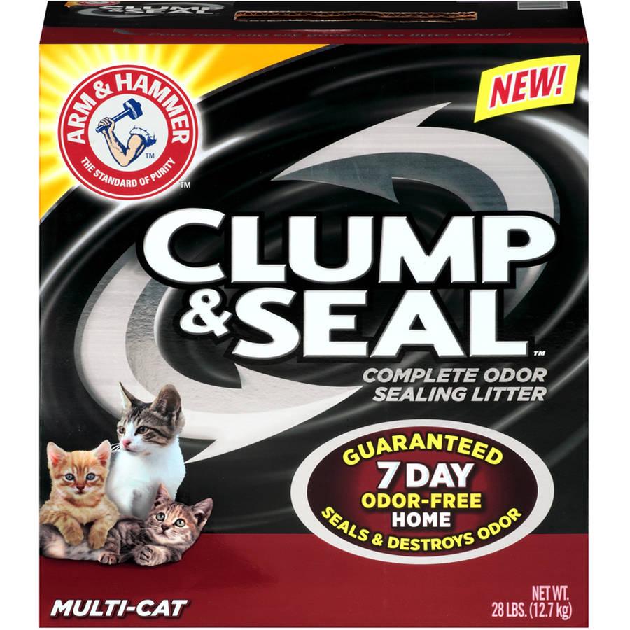 Arm & Hammer Clump & Seal Multi-Cat Litter 28 lb. Box