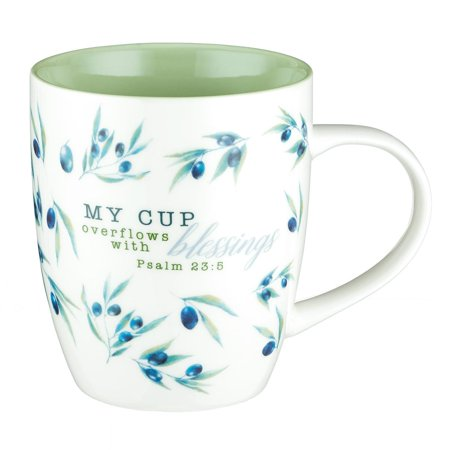 Mud Cups - Mug My Cup Overflows W/Blessin (Other)