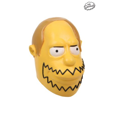 The Simpsons Comic Book Guy Mask (Simpsons Halloween Gif)