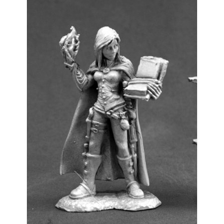 Nonalla Ellinad Female Elf Wizard Miniature 25mm Heroic Scale Dark Heaven Legends Reaper Miniatures