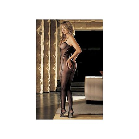 Black Crotchless Fishnet Bodysuit 90033 Shirley Black