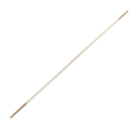(RC Airplane Parts 3mm Diameter Threaded Both End Metal Push Rod 300mm Length)