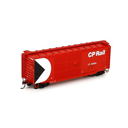 Athearn - HO RTR 40' Double Door Box, CPR #290625 Multi-Colored