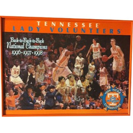 Rdb Holdings   Consulting Ctbl 020498 17 X 13 In  1996 1997 1998 Tennessee Lady Vols Back To Back National Champions Poster Frame