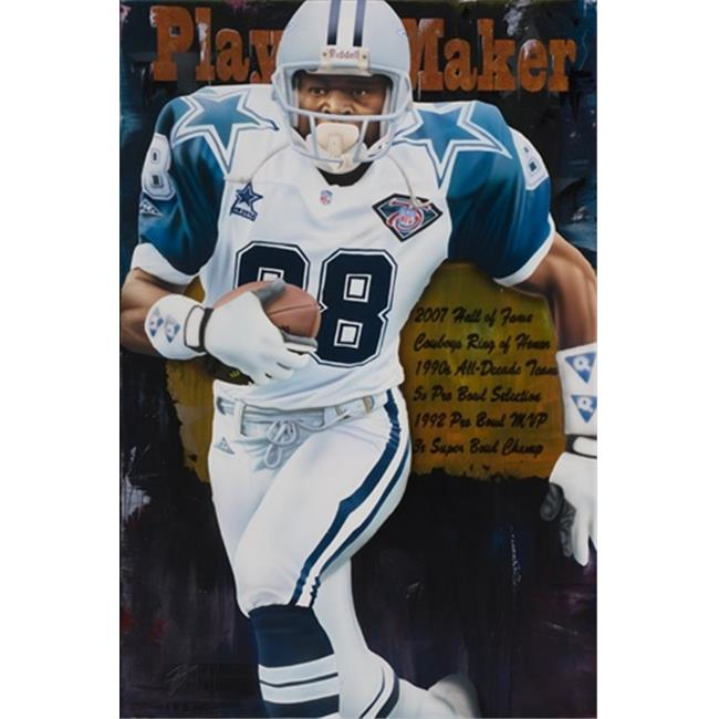 Deacon Jones Foundation RJ-03R Playmaker Art Print, by Rob Jackson - Rolled