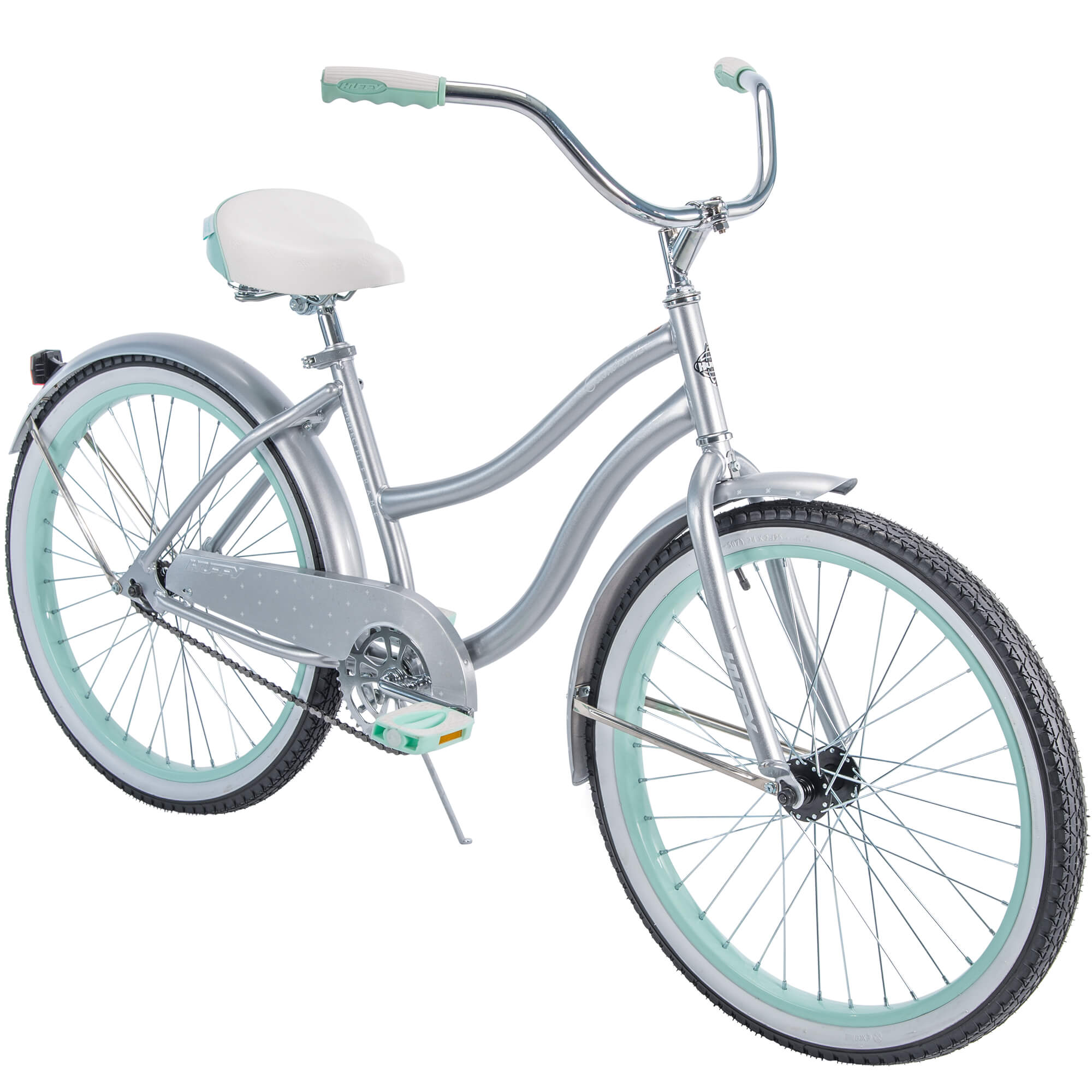 "Huffy 24"" Cranbrook Girls' Cruiser Bike with Perfect Fit Frame"
