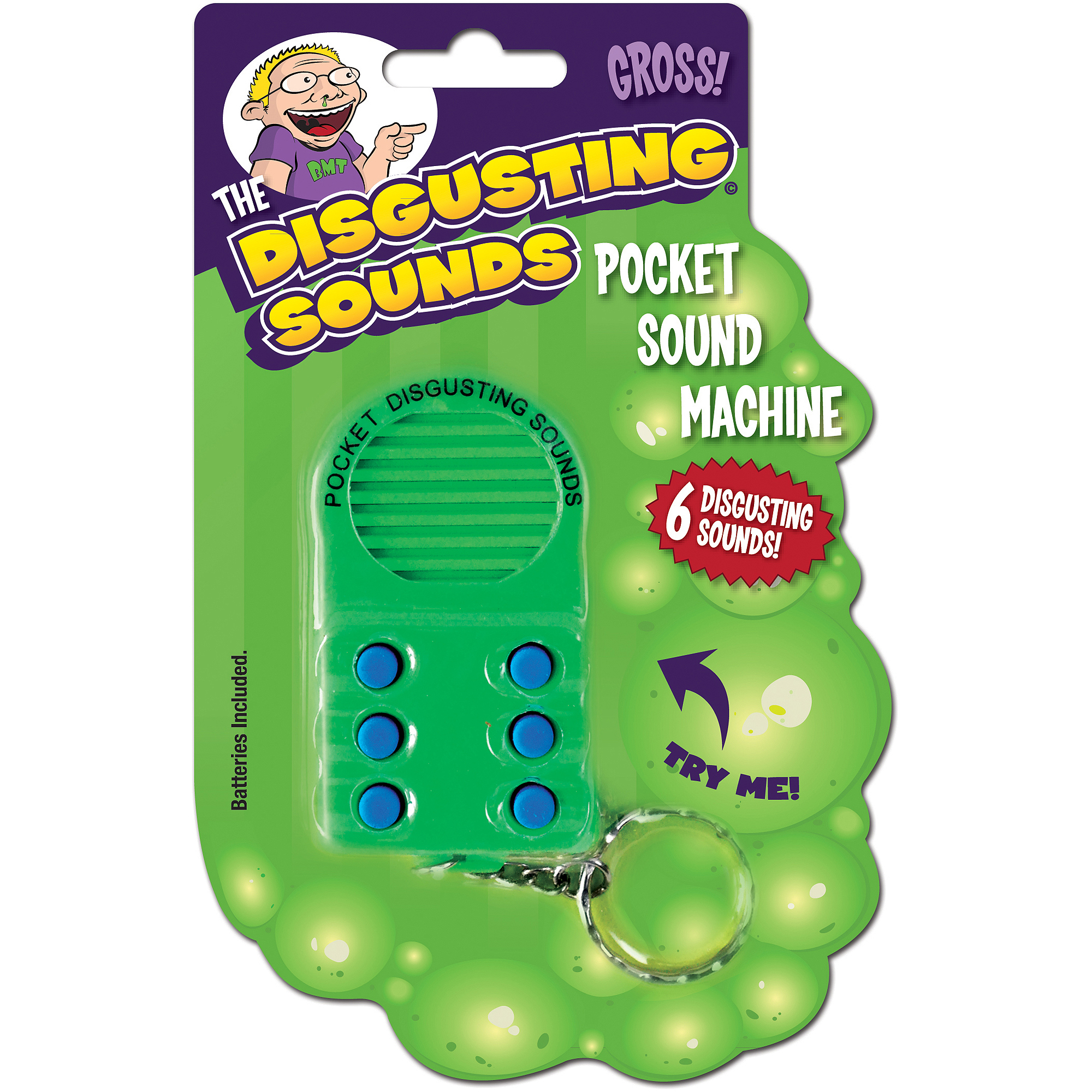 Pocket Disgusting Sounds Machine