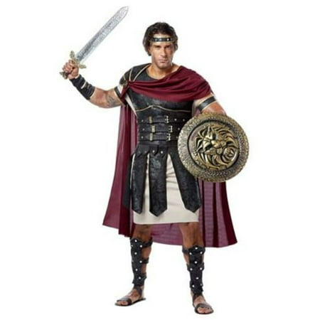 Roman Gladiator Costume 01258 California Costume Collections Black/Burgundy - Gladiator Costume Halloween Express