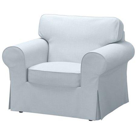 Ikea Chair Cover Nordvalla Light Blue 182852323222 Walmartcom