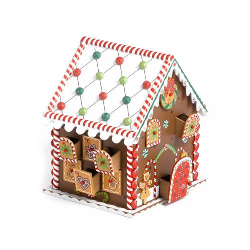 Kaemingk Gingerbread House Wooden Advent Calendar - Walmart.com