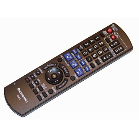 OEM Panasonic Remote Control Originally Supplied with DMR-EZ485V, DMR-EZ48K, DMR-EZ48V, DMR-EZ48VK