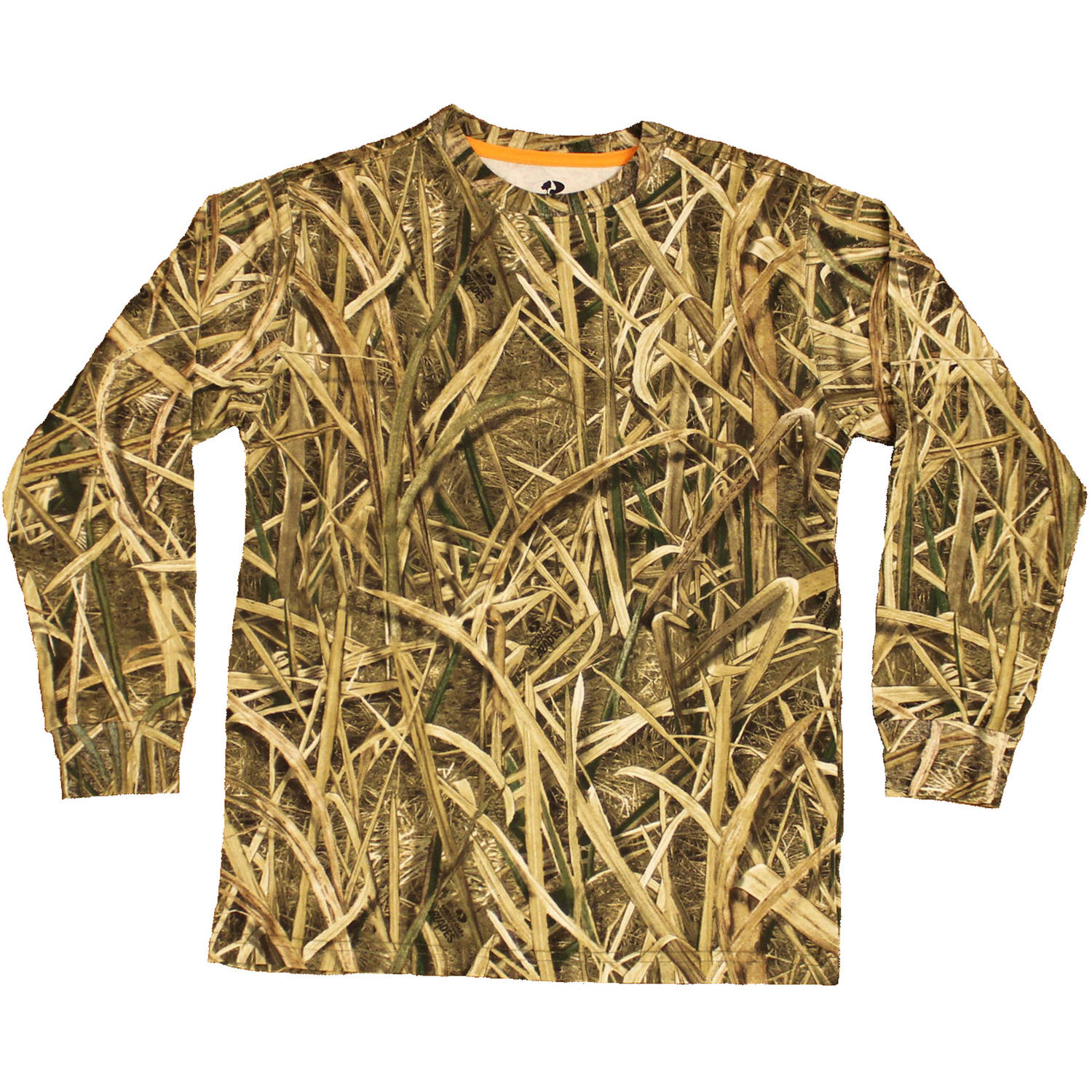 Boy's Long Sleeve Camo Tee, Available in Multiple Patterns