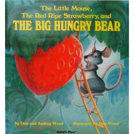 Little Mouse The Red Ripe Strawberry and (Board Book) - It's Halloween You Fraidy Mouse Book