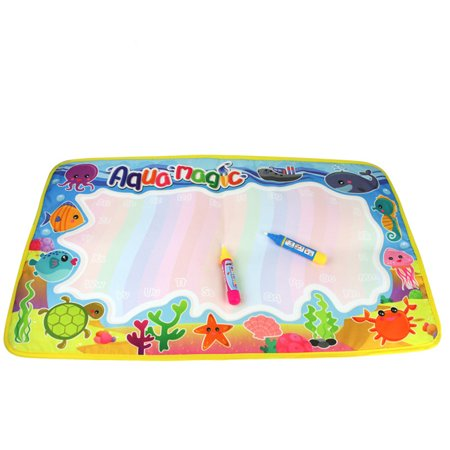 - Ocean Animal Edge Colorful Painting Area Magic Water Canvas Graffiti Mat Toys