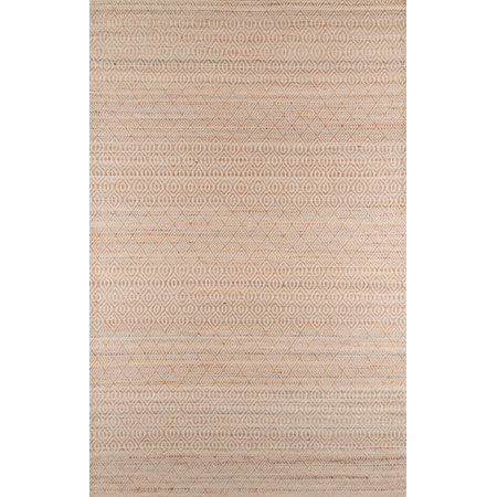 Momeni Bengal Jute and Cotton Hand Woven Natural Area Rug 3'6