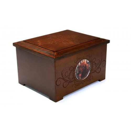 Dynamic Accents Pet Urn and Memory Box