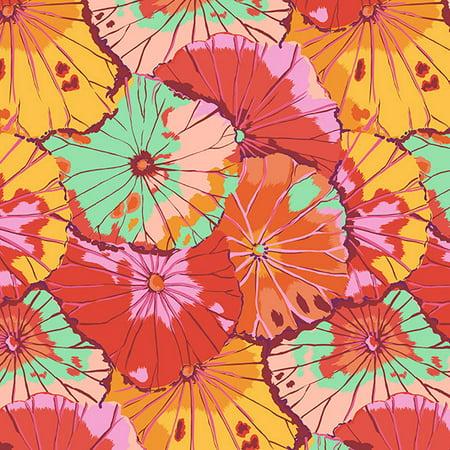 Free Spirit Fabrics Kaffe Fassett 2018 Collective Citrus Lotus Leaf (Lotus Fabric)