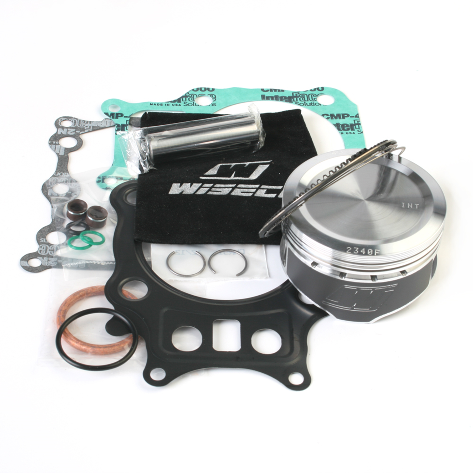 Wiseco Pk1444 79.50 Mm 8.8:1 Compression Atv Piston Kit With Top-End Gasket Kit