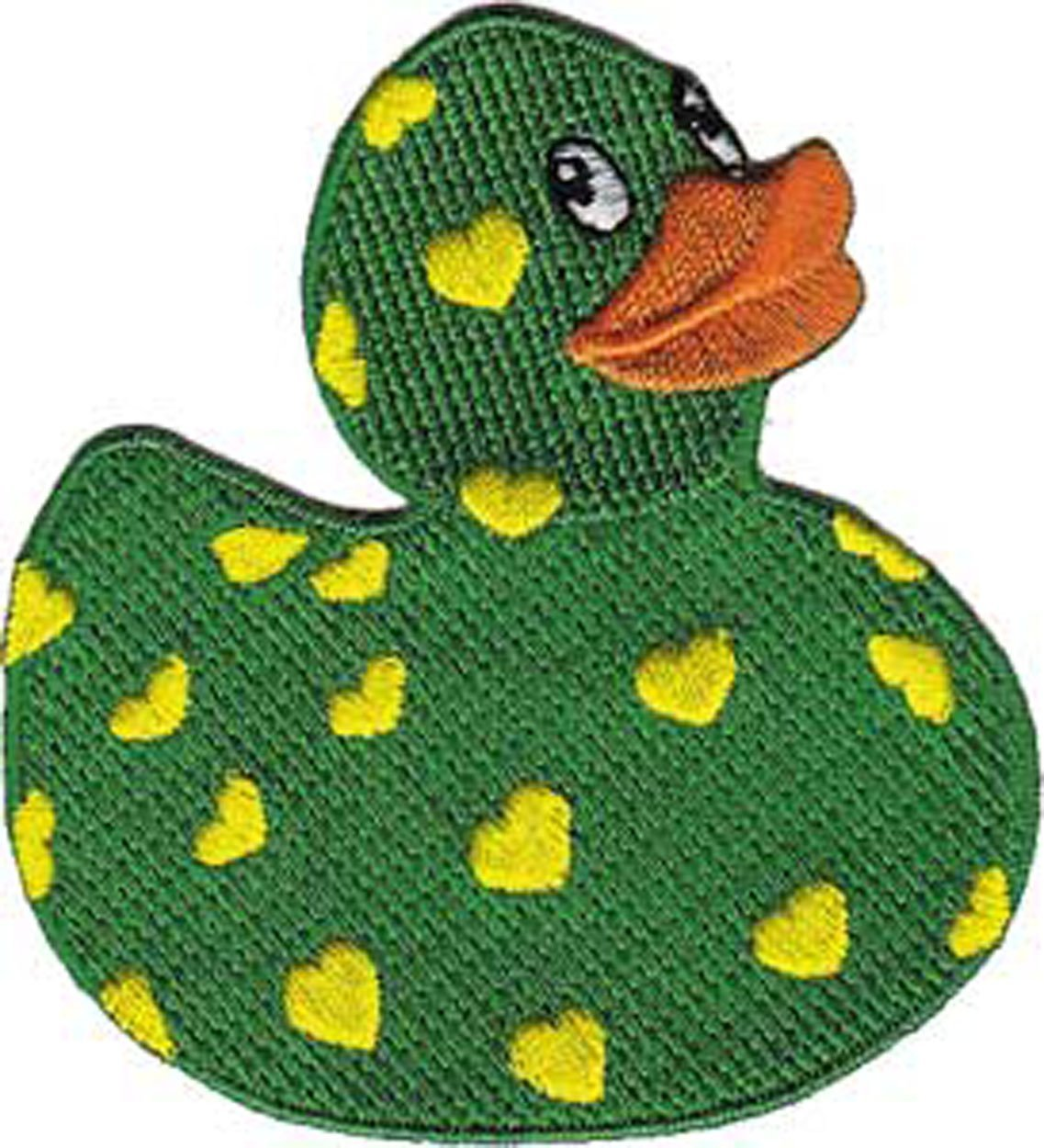 Patch - Animals - Hearts Rubber Ducky Iron On Gifts New Licensed p-3733