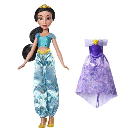 Princess Jasmine Outfit (Disney Princess Enchanted Evening Styles, Jasmine Doll with 2)