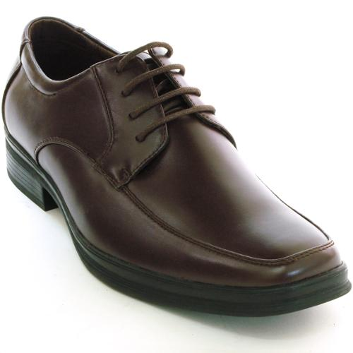AlpineSwiss Bern Mens Oxford Dress Shoes Lace Up Suede Lined Casual Derby Loafer Brown Size 10