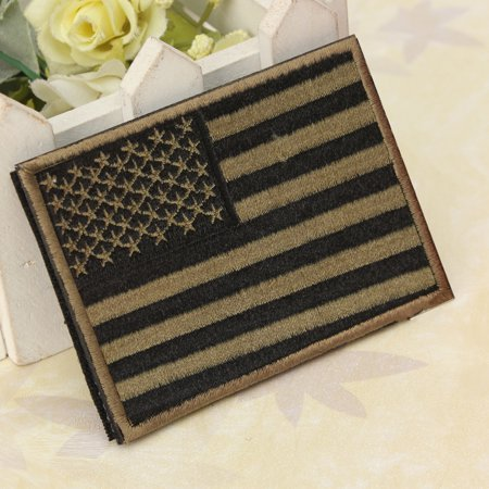 a88eabf9a8cc 5 Styles Embroidered Flag Army Badge Patch 3d Tactical Military Patches  Fabric Cloth Armband United States Flag Badge Sew